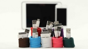 USB Fabric Cable by Urban Cottage Industries