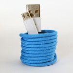 Smartphone fabric cable - for Samsung and android devices.
