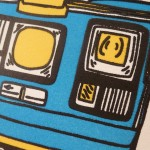 Letterpress greetings cards - close up