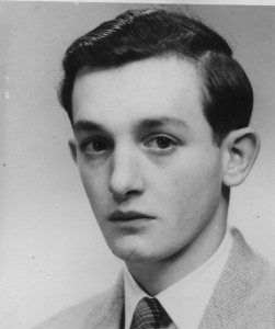 Stuart Holland as a young man