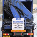 BR Removals lorry
