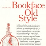 Bookface Old Style - the Book of Intertype Faces