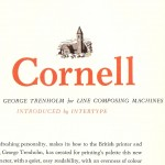Cornell font - the Book of Intertype Faces