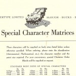 Intertype special characters