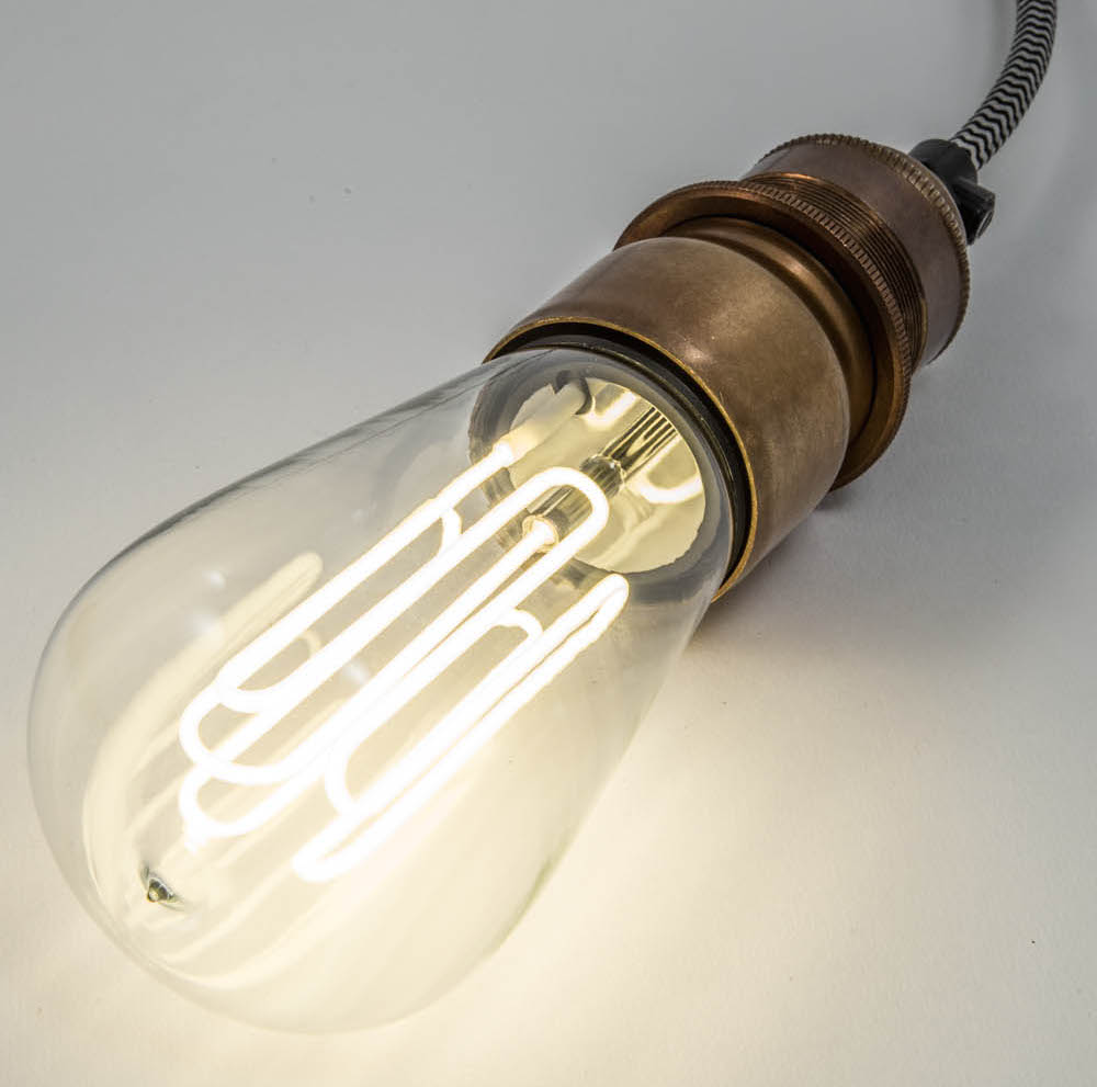 Eco-filament caret lamps | Urban Cottage Industries