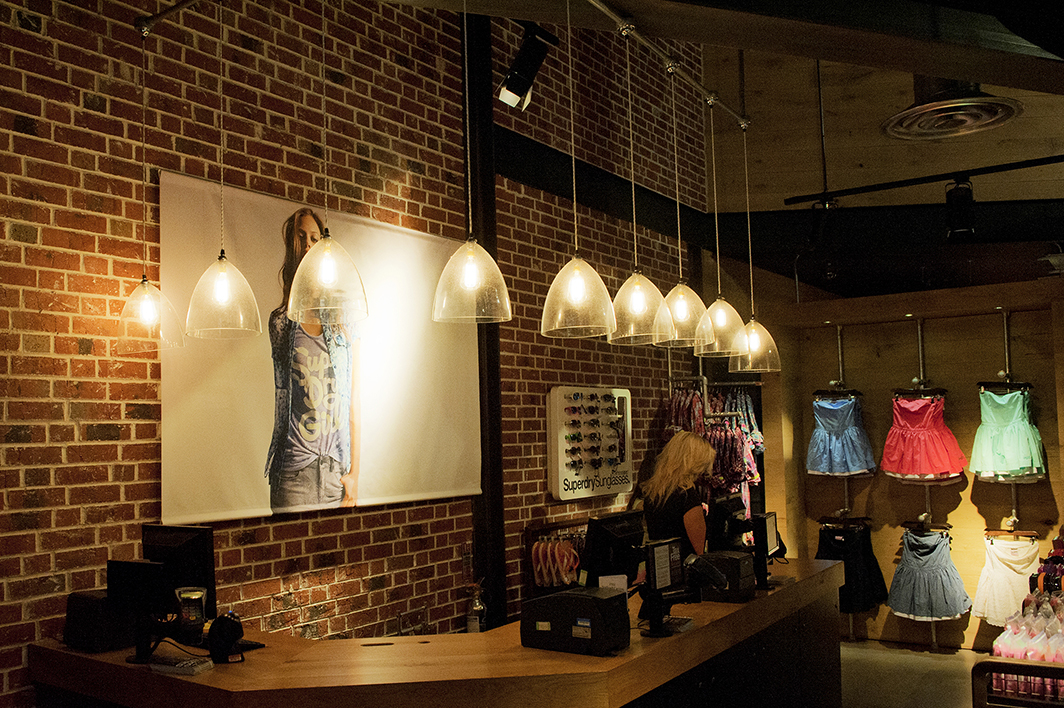 decorative light bulbs Superdry checkout