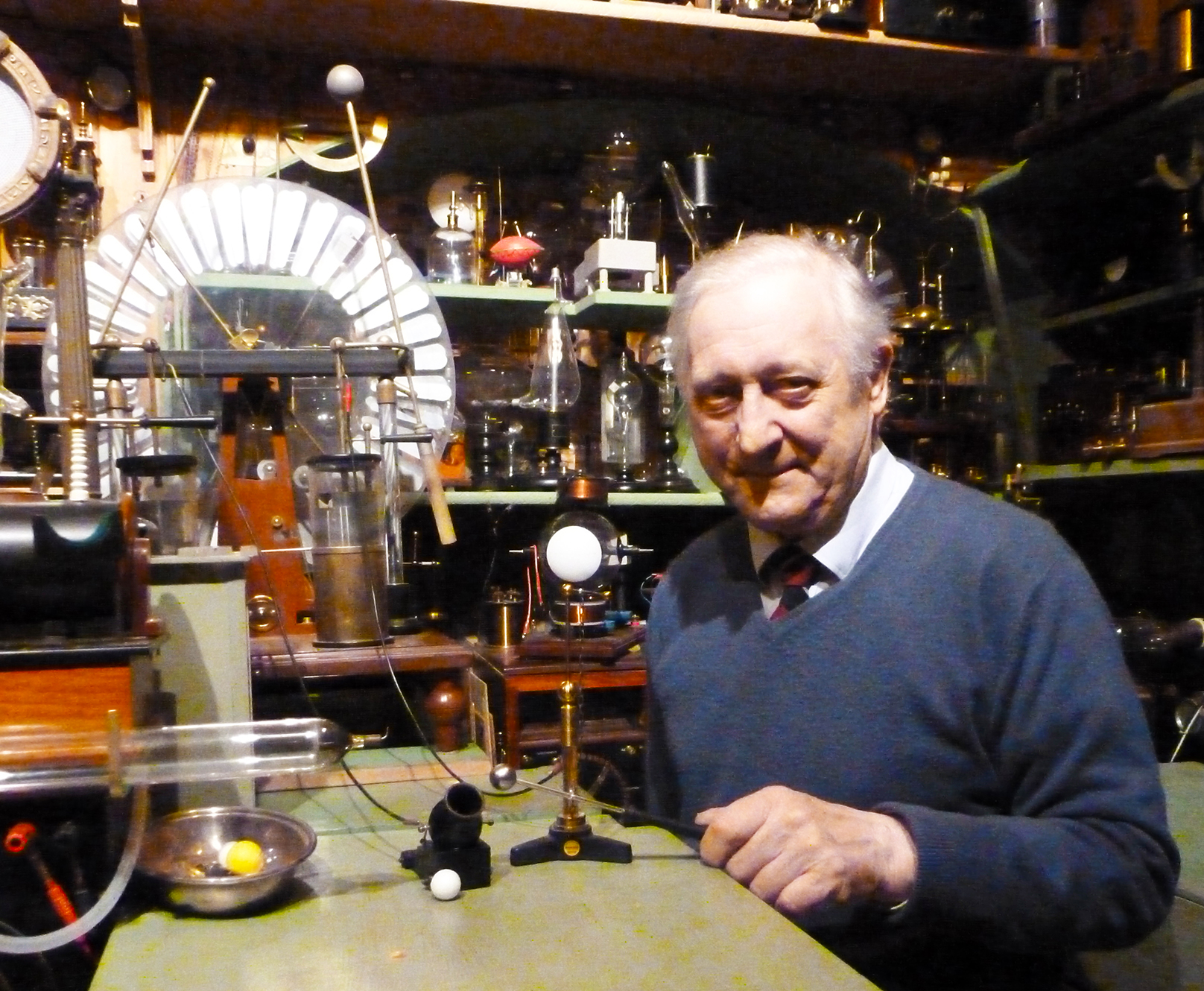 Museum of Victorian Science proprietor Tony Swift