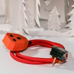 red extension lead