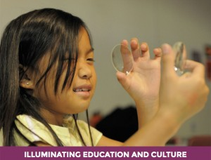International Year of Light - education and culture