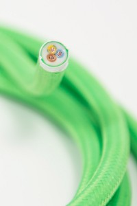 round lighting cable