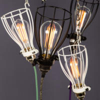 Inspection Lamp Variants Suspended