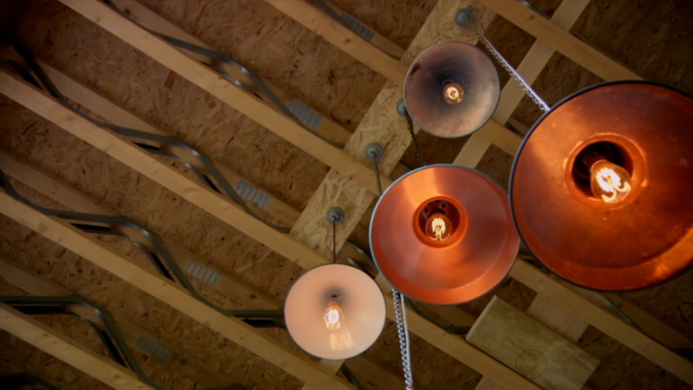 Grand Designs lighting - Wirral ceililng lights