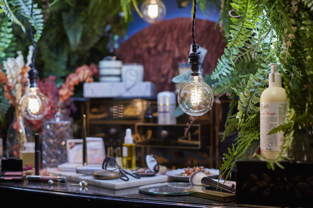 Liberty London lighting spiral filament bulbs