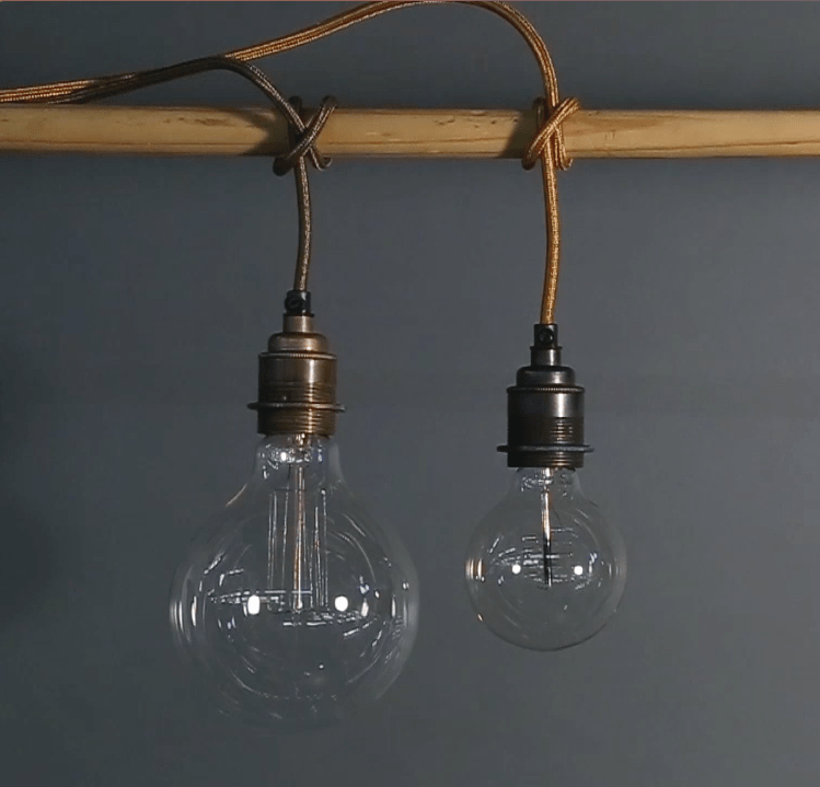 The Clove Hitch Technique in Fabric Lighting Cable