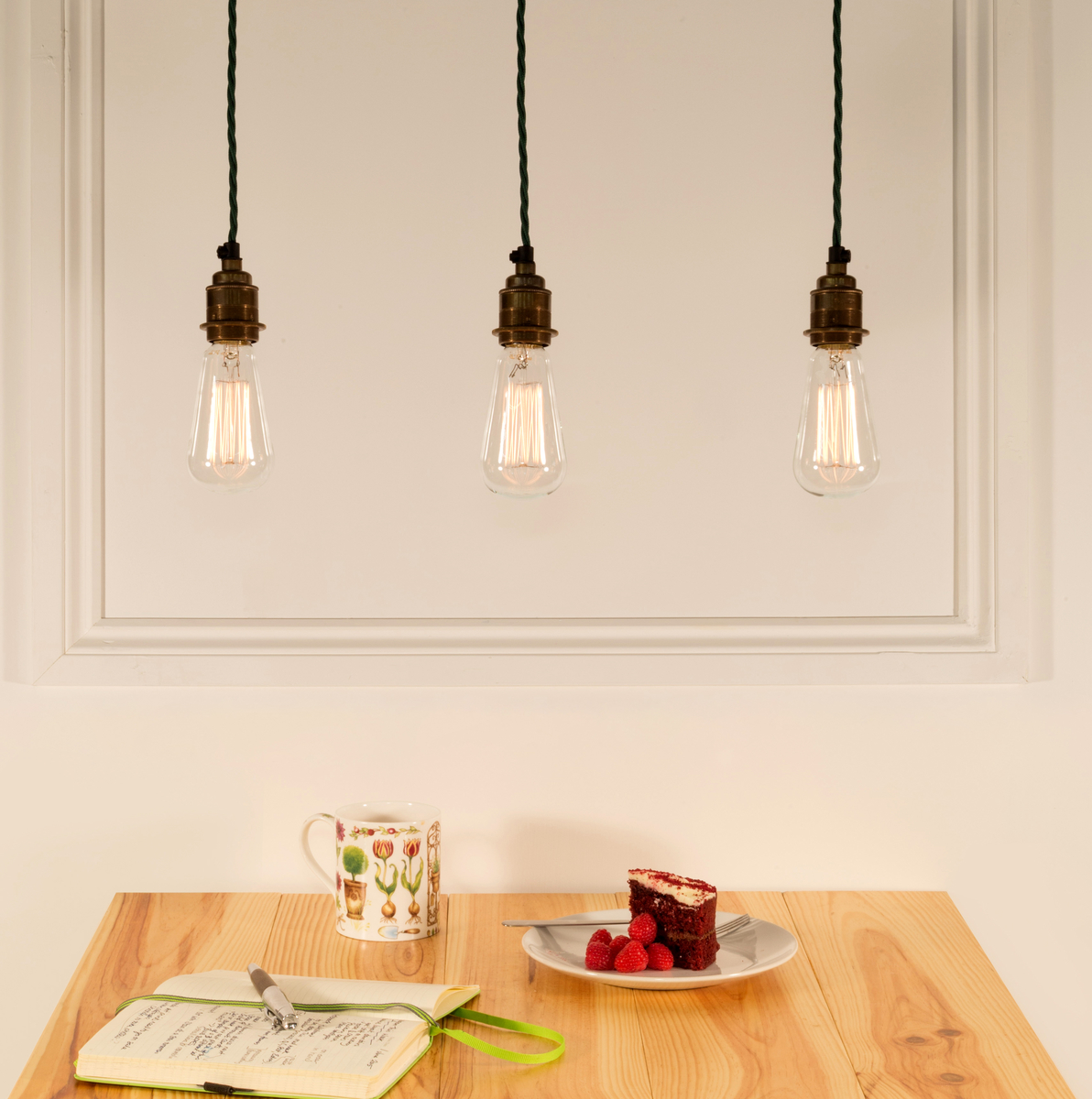 Bare Bulb Pendants Urban Cottage