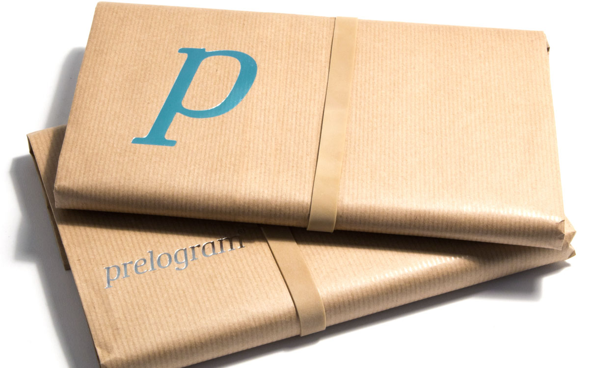 brown paper wrapped notebooks