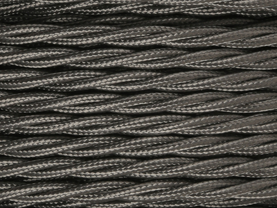 elephant grey braided lighting cable
