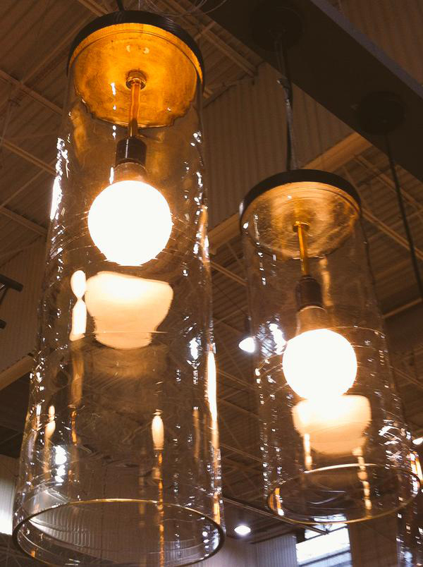 glass light shades cilindro Michael Ruh