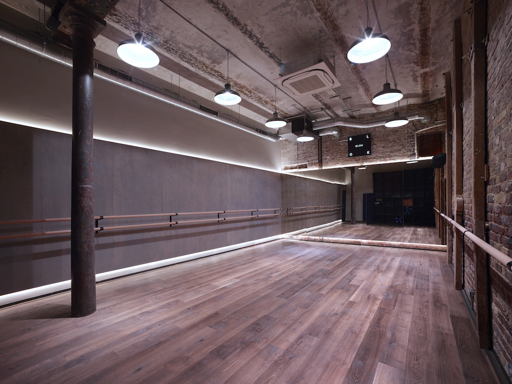 Industrial Light Fittings Blok Fitness Space Factorylux