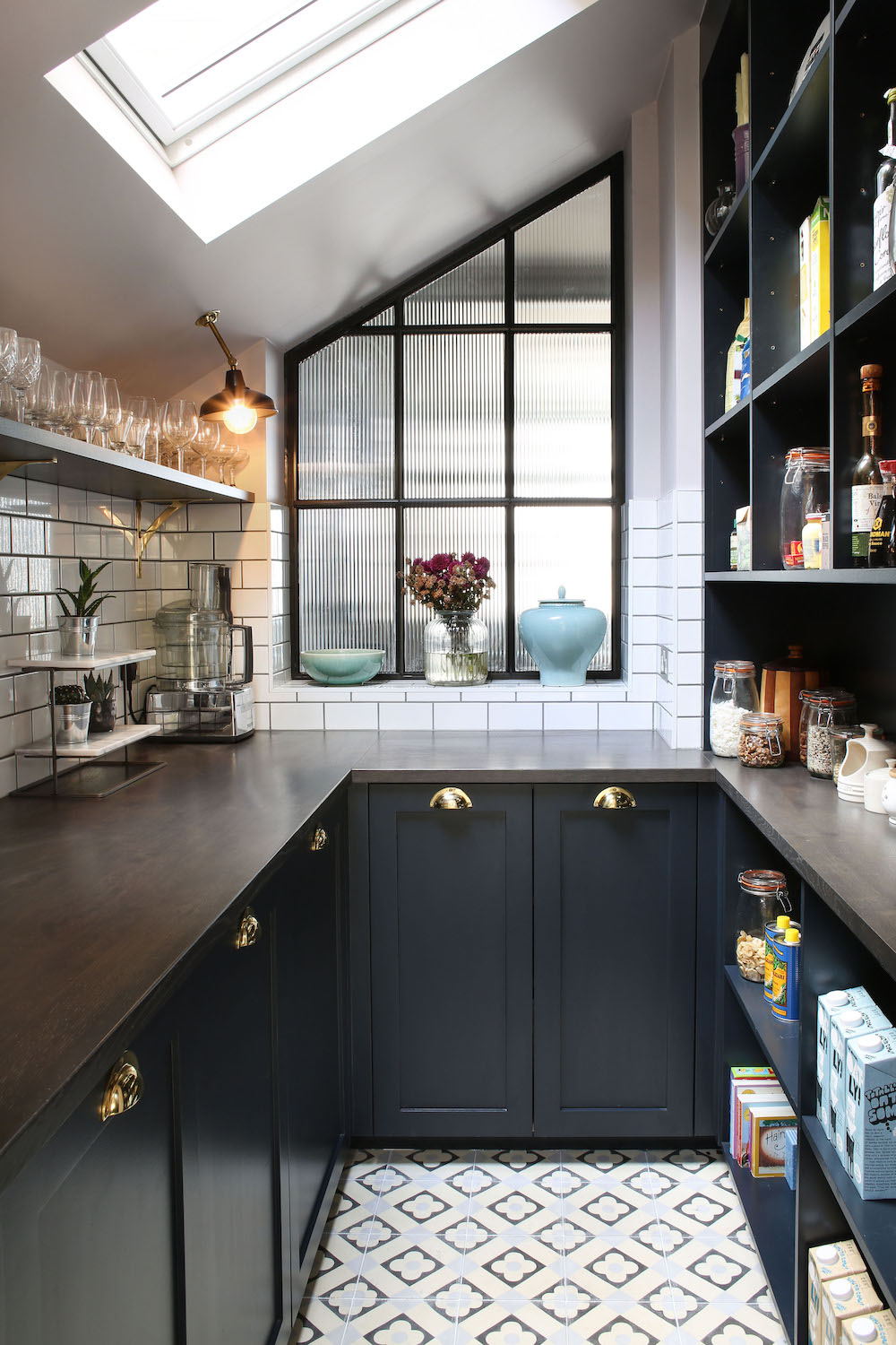 Kitchen Ceiling Lighting | Factorylux for North London Project