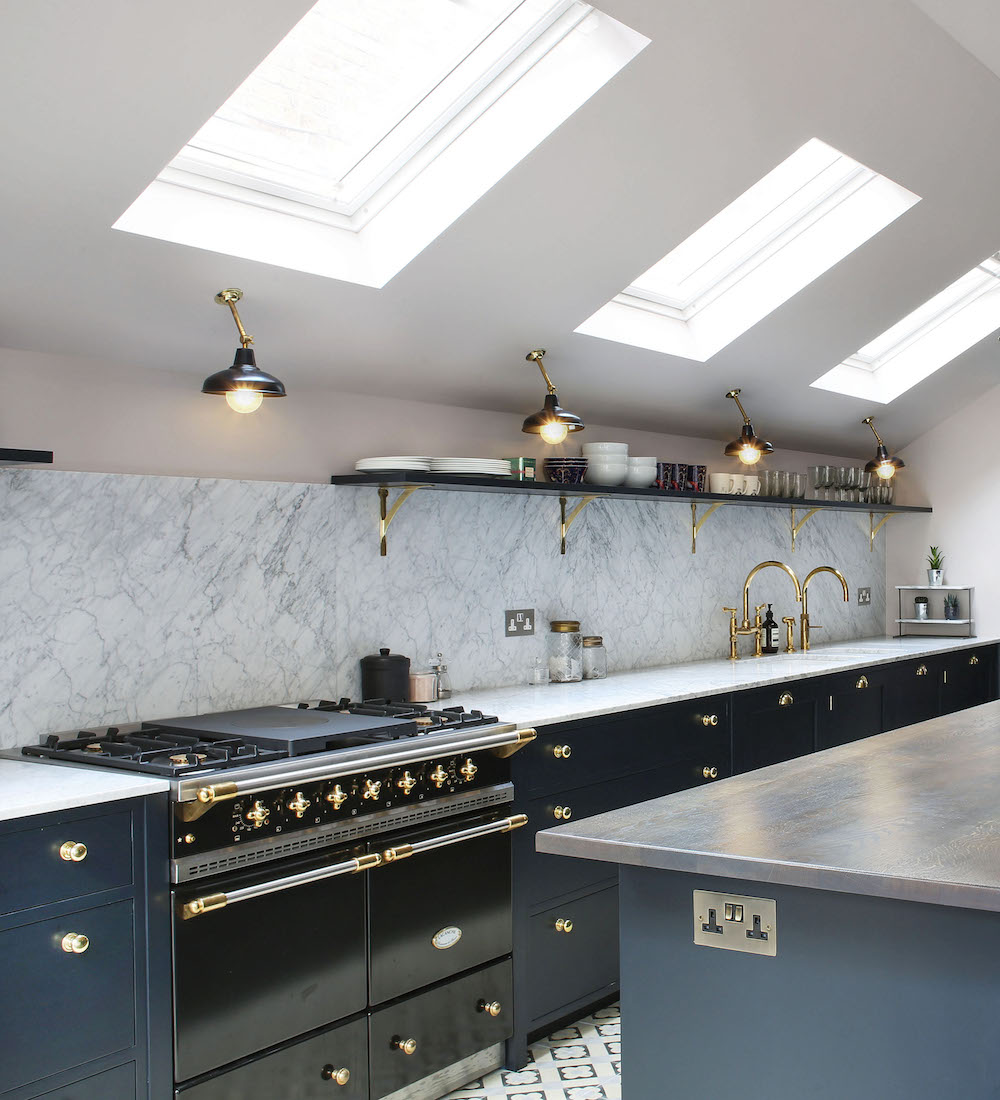 Kitchen Lighting Ceiling Fixtures: Factorylux For North London Project