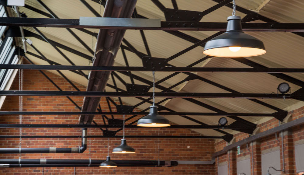 pendant lights for mill building