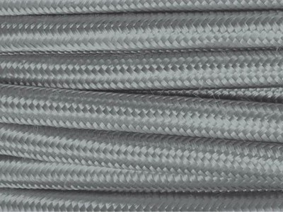chrome fabric lighting cable
