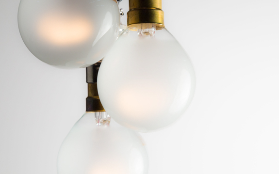 Frosted Mini Globe Filament Bulbs 25W