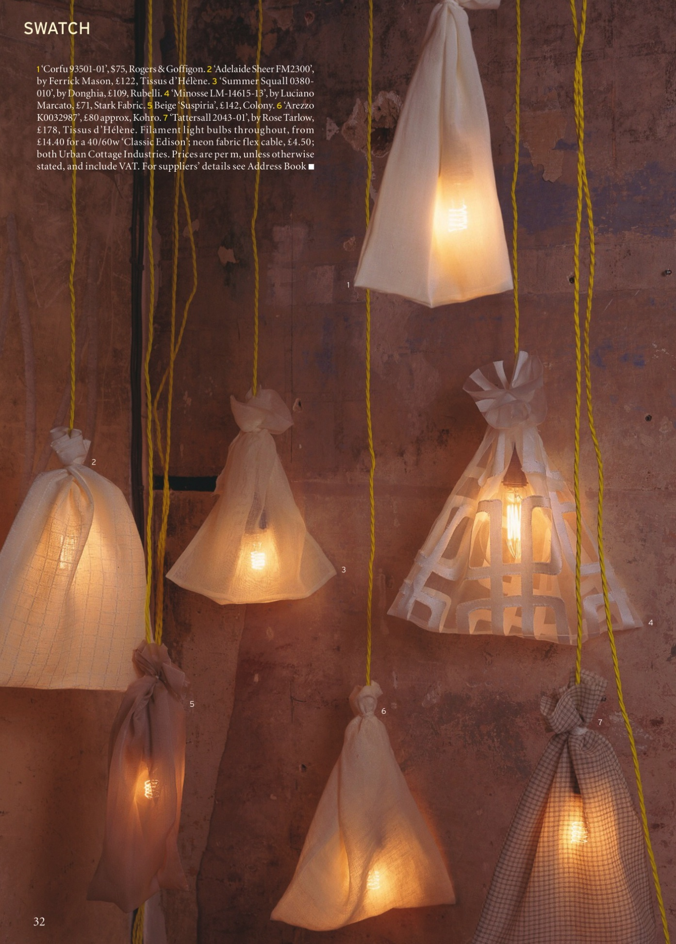 6 Steps To A Cosy Home Wire Inside The Bulb Called Filament Lights Light Bulbs Factorylux In World Of Interiors