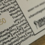 Close up of an Urban Cottage Industries gift voucher