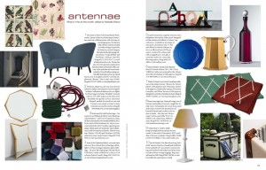 World of Interiors magazine February 2013 - Antennae feature