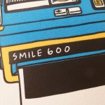 Letterpress greetings cards - Smile 600