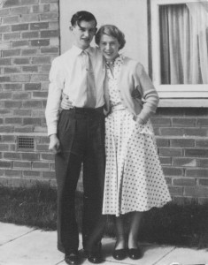 Stuart Holland with his wife Margaret