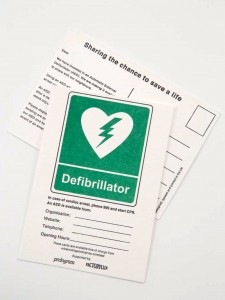 AED sharing cards