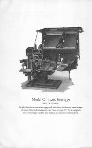 Intertype Model C4-4-sm
