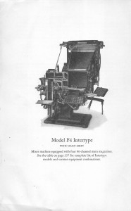 Intertype Model F4