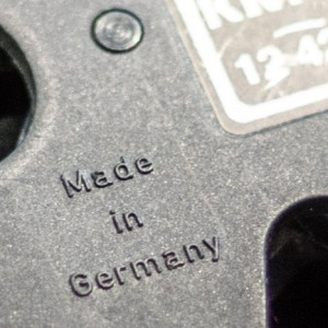 Product with made in Germany origin marking