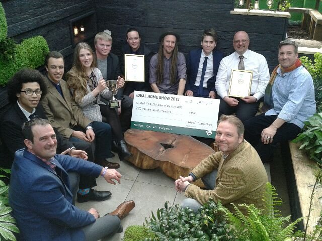 winners of the young gardeners of the year award