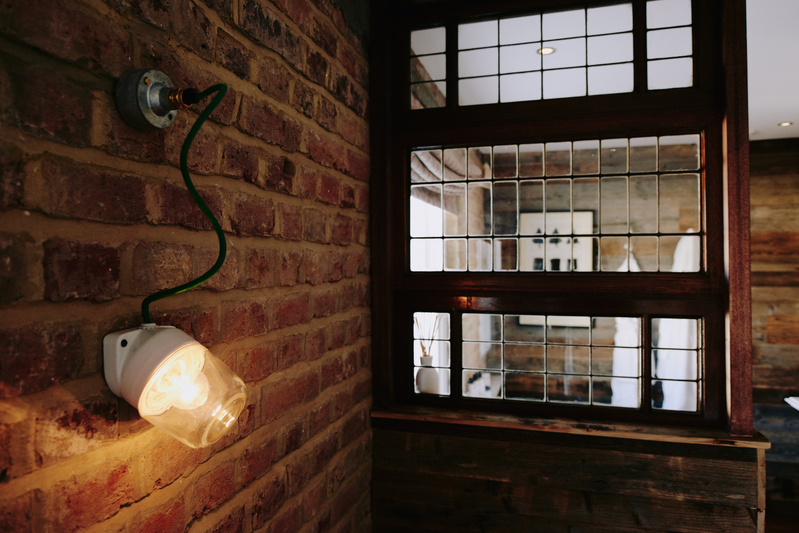 IP rated industrial wall light
