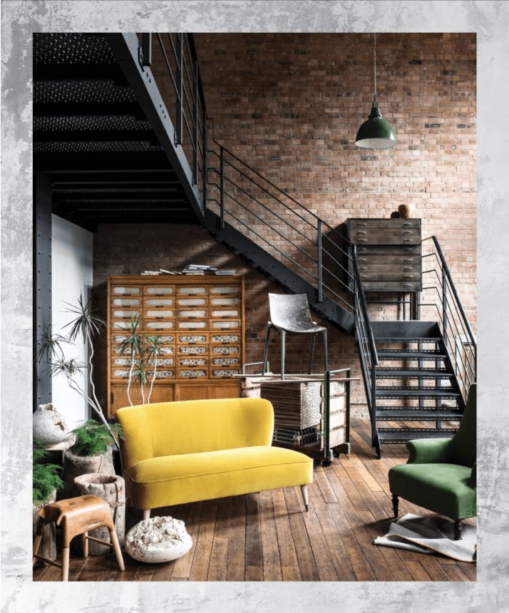 Excerpt from Warehouse Home, a lavish industrial interior