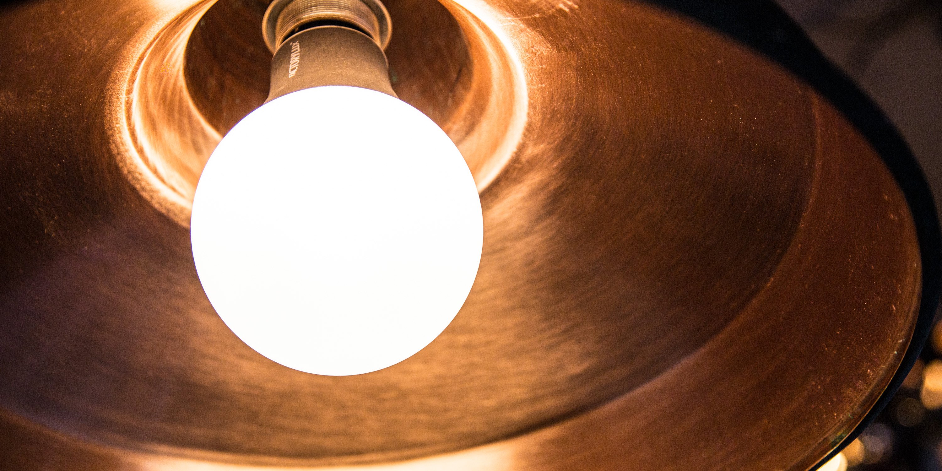 Eco-LED in Copper shade