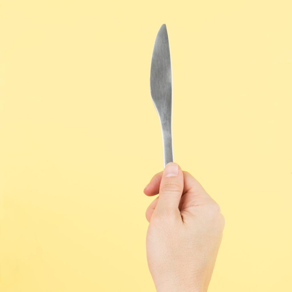 butter knife - make sure you have the right tools for your renovation