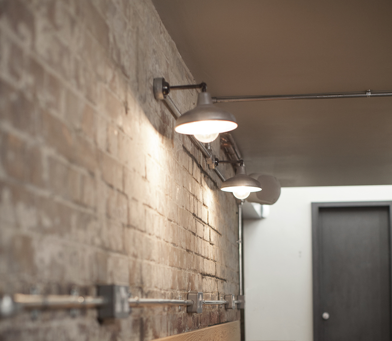 Galvanised Industrial Wall Lights