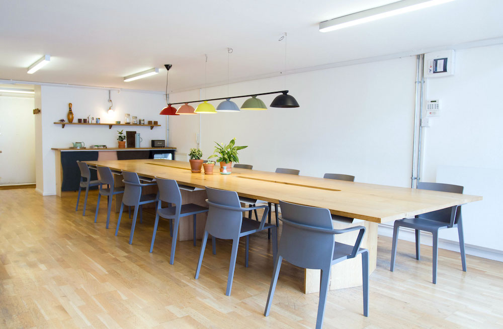 Industrial wall lighting factorylux for disegno offices