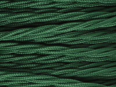 racing green braided lighting cable
