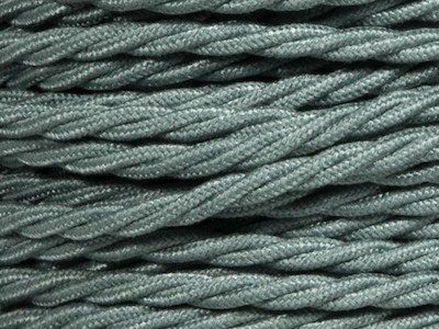 sage green braided lighting cable