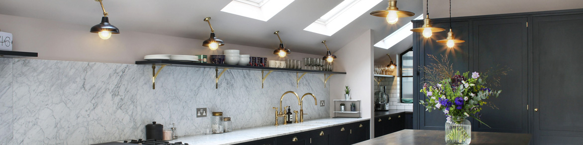 Industrial, Vintage & Retro Kitchen Lighting
