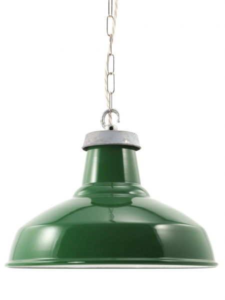 Green Enamel Industrial Lamp Shade | 360mm