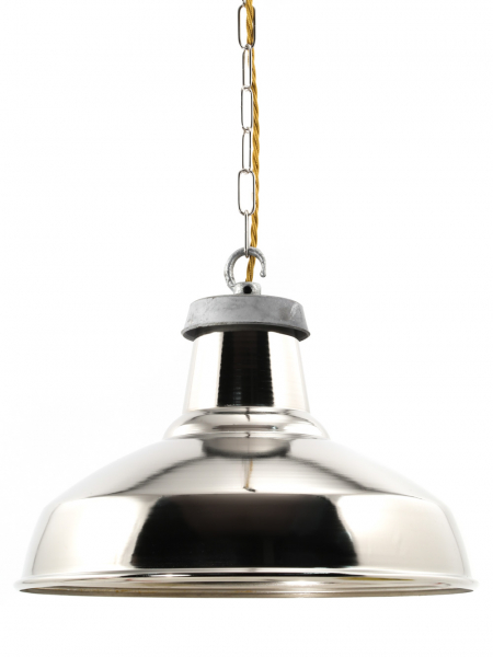 360mm Industrial silver Lamp shade