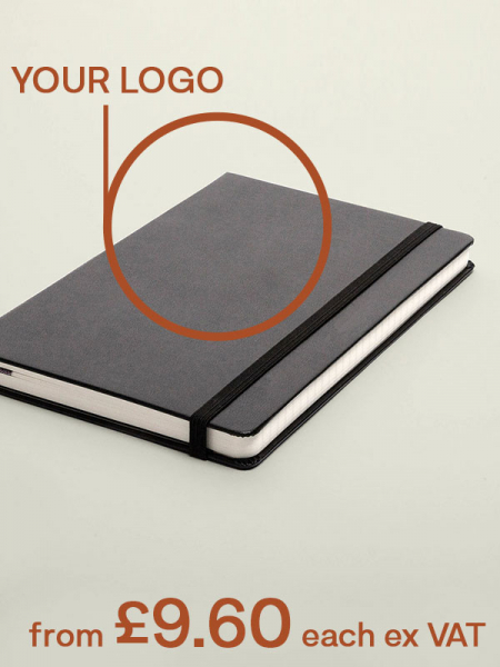 40% off Prelogram Notebooks with personalised logo
